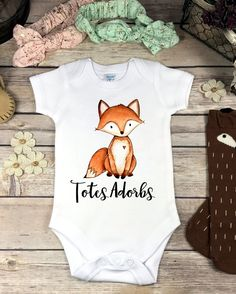 Hey, I found this really awesome Etsy listing at https://www.etsy.com/listing/483385790/baby-fox-onesie-onsie-baby-girl-gift