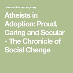 Atheists in Adoption