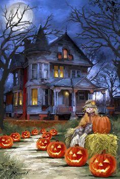The Macneil Studio Spooky House