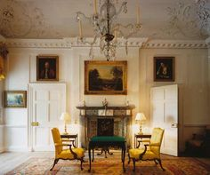 Dumfries House restoration in pictures - Telegraph. he restored Family Parlour has as its focal point a Chippendale card table and two Chippendale elbow chairs