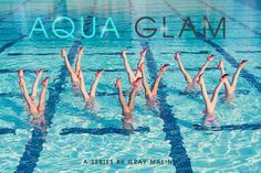 Gray Malin with Aqualillies in his #aquaglam series www.aqualillies.com