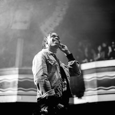 Travi$ Scott Brought Out Kanye West and Chris Brown Last Night In Los Angeles   Complex