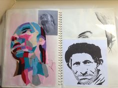 GCSE Sketchbook by Noah Walton Gcse Art Sketchbook, Sketchbooks, Gay Art, Art Studios, Studio Art, Journals, Inspiration, Image, Ideas