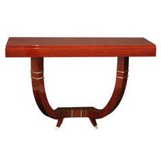 Exceptional French Art Deco Wall Console