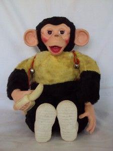 Vintage Howdy Doody Zippy Monkey Doll Zip w Banana.  I call him Chico.  He's from the 50s I think.  I still have him.