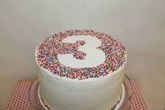 Image result for simple birthday cake designs for beginners