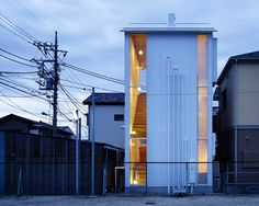 "Check out this 3-story 624 sq. ft. house in Japan. The architects, Takahashi Maki and Associates, call it the ""White Hut and Tilia Japanica"". Set in a older residential community this small house s..."