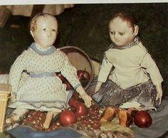 Photo Essay Article Cloth Rag Dolls Wenham Museum Izannah Walker History | eBay