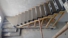 How to choose and buy a new and modern staircase – My Life Spot Loft Staircase, Staircase Handrail, House Stairs, Home Stairs Design, Interior Stairs, House Design, Building Foundation, Building Stairs, Stair Detail