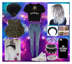 """Untitled #66"" by cassadyhopegann on Polyvore featuring River Island, Converse, Casetify and Coal"