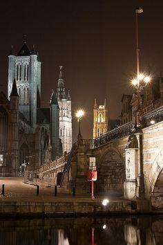 Torens van Gent - Belgium  (by Pascal De Laender on Flickr)
