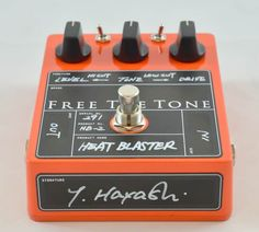 Free The Tone HB-2 Heat Blaster Modern Distortion Guitar Effect Pedal