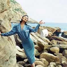 """""""Luxe is Chic"""" : Wang Meng Ya & Masha Gu : Harper's Bazaar Hong Kong February 2013 : Ethan Zhong"""