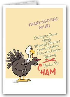 Funny card for thanksgiving food card by euclidstreetshop our best selling funny thanksgiving card m4hsunfo