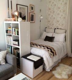 Вариант небольшой спальни