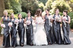 Real Bridesmaids in Jim Hjelm Occasions style 5069    http://www.jlmcouture.com/Jim-Hjelm-Occasions/Bridesmaid/Additional/Style-5069