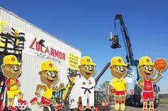 Il va y avoir du sport ! Voilà une année 2016 qui démarre sur les chapeaux de roue pour les équipiers des vingt trois agences Locarmor en Bretagne !