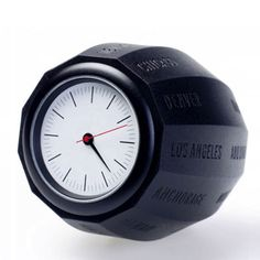Waals World Time Clock - Injection Molded