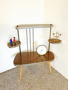 Atomic Table Mid Century Modern Plant Table Etagere German