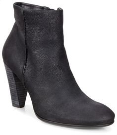 6d4fa5e4b ecco 75 Heels Boots For Women- Black