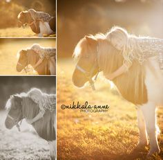 Daydreaming | Nikkala Anne Photography  family sibling photo session photography inspiration idea farm horse stars