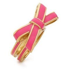 pink kate spade ring.