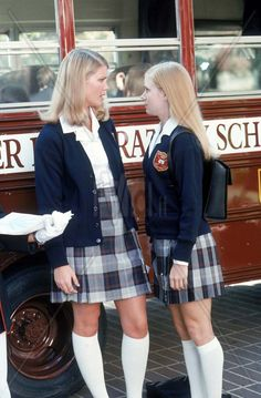 """Cruel Intentions 2"" movie still, 2000.  L to R: Keri Lynn Pratt, Amy Adams"
