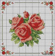 rose for pillow
