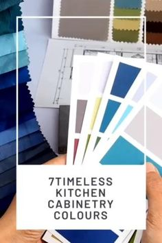 Beautiful homes and design are what we all want and that includes a gorgeous kitchen. Whether you are doing DIY kitchen redos yourself or are working with an interior designer for your kitchen ideas & inspiration, we share on our blog post the best kitchen cabinet colours to modernize your kitchen from neutral kitchen colours to bold and cool kitchen ideas. Head to the blog post to find out now! | home and design | kitchen | kitchen ideas | small kitchen ideas | kitchen cabinets | home decor Neutral Kitchen Cabinets, Neutral Kitchen Colors, Kitchen Cabinet Colors, Painting Kitchen Cabinets, Kitchen Cabinetry, Modern Kitchen Design, Modern House Design, Kitchen Designs, Diy Kitchen