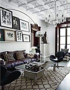 Picture shelves. Malene Birger House via Stone Textile via Habitually Chic