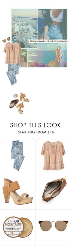 """""""i think of you in colors that don't exist."""" by lcole1 ❤ liked on Polyvore featuring Wrap, J.Crew, Max Studio, MICHAEL Michael Kors, Nip+Fab and Linda Farrow"""