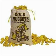 Golden Nugget Gum every Christmas.