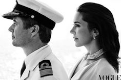 Crown Prince Frederik and Crown Princess Mary's cover feature in the August cover of Australian Vogue.