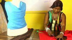 HOW TO CUT A COWL NECK BLOUSE