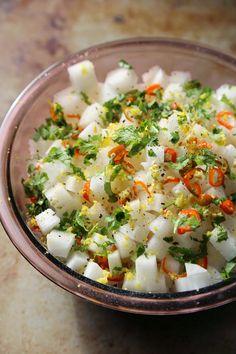Pickled Radish #food #pickled radish #side
