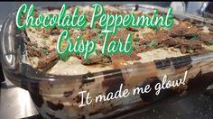 Chocolate Peppermint Crisp Tart