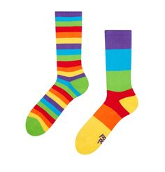 Good Mood Sport Socks Rainbow Stripes Good Mood, Feel Good, Angel And Devil, Sport Socks, Pug Life, Physical Activities, Improve Yourself, Cheer, Two By Two
