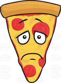 Slice Of Pepperoni Pizza With Depressed Look On Face Emoji #americanpizza #blue #caricature #cartoon #cartoonface #cheerless #cheese #cheesy #cheeza #chicagostyle #crust #dark #darkening #dejected #depressing #depressive #dismal #dispiriting #dreary #emoji #emoticon #faceonfood #food #gloomful #glooming #gloomy #grim #hopeless #long-faced #meltedcheese #mozzarella #mozzarellacheese #pepperoni #pepperonichips #pepperonislices #pie #pizza #pizzapie #pizzaslice #sad #saddening #single ...