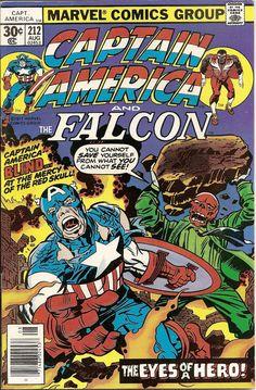 Captain America #212—Kirby's second run on Cap.