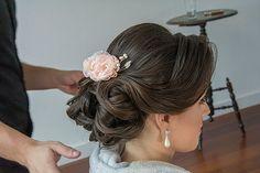 ♥ Beatriz Leal Miranda | Tulle - Acessórios para noivas e festa. Arranjos, Casquetes, Tiara