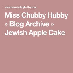 Nothing says fall to me like my mom's Jewish Apple Cake. Loaded with apples and cinnamon, just the smell brings me back to my childhood. Loaf Cake, Pound Cake, Bundt Cakes, Apple Kuchen Recipe, Jewish Apple Cakes, Pan Sizes, Small Cake, Apple Recipes, Food To Make