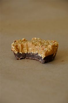 Popped Amaranth Peanut Butter Cups. I love pinterest. I could have gone a lifetime never knowing a person could pop amaranth.