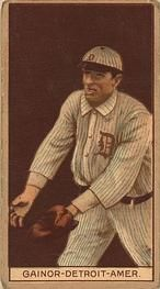1912 Brown Backgrounds T207 #64 Del Gainor Front