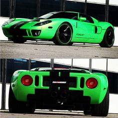 This may divide people. What do you think of this flash green Ford GT?