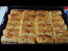 Baklavalık Hazır Yufkadan Çıtır Börek Tarifi - YouTube Middle Eastern Recipes, Pastry Recipes, Mashed Potatoes, Banana Bread, Food And Drink, Tasty, Breakfast, Ethnic Recipes, Desserts