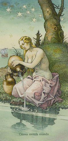 AstroSpirit / Aquarius ♒ / Air / Le Verseau / Aquário /The Star from the Dürer Tarot