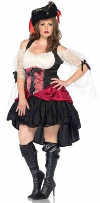 sexy pirate plus size costume - Cheap Plus Size Halloween Costumes 4x
