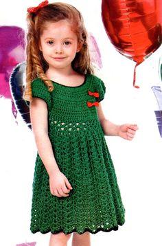 girl crochet dress