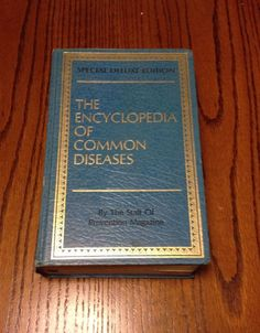 The Encyclopedia Of Common Diseases *Special Deluxe Edition*  1976
