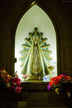 Virgen de Lujan en la Estación Central Concordia. Entre Rios (Argentina)